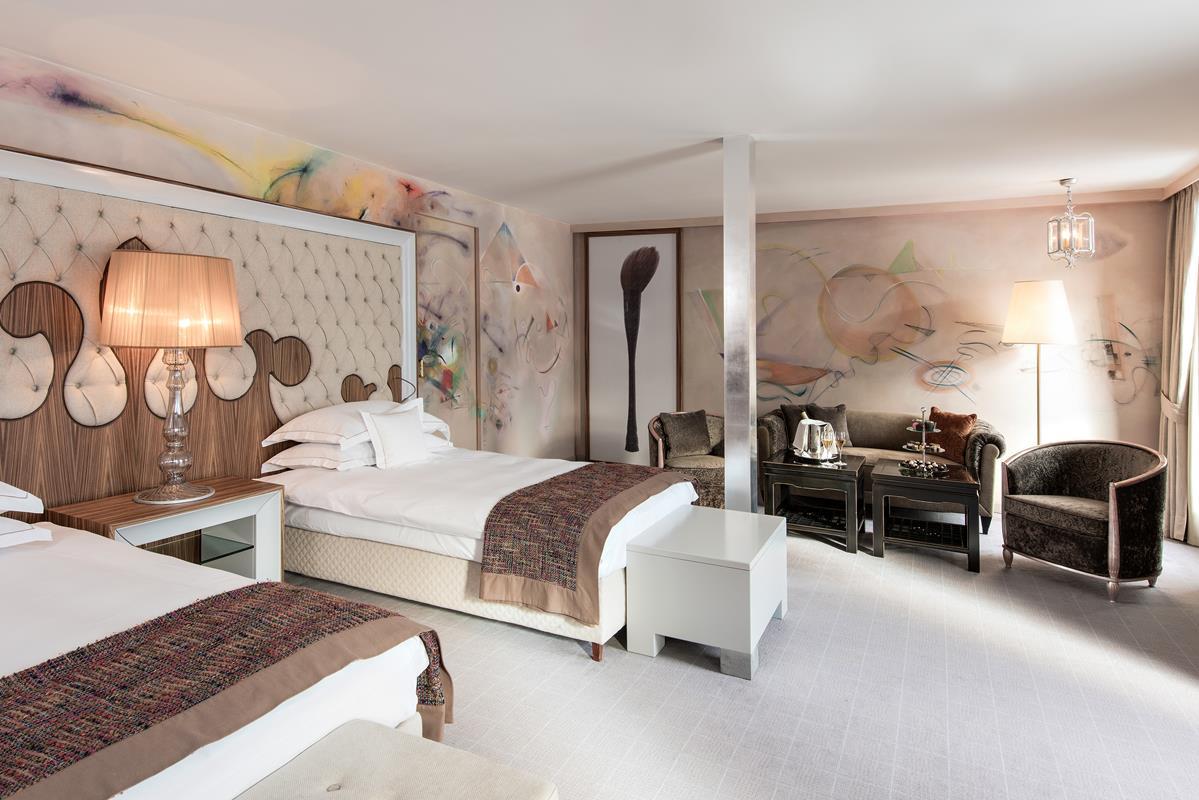 Carlton Hotel St. Moritz – Kandinsky Suite
