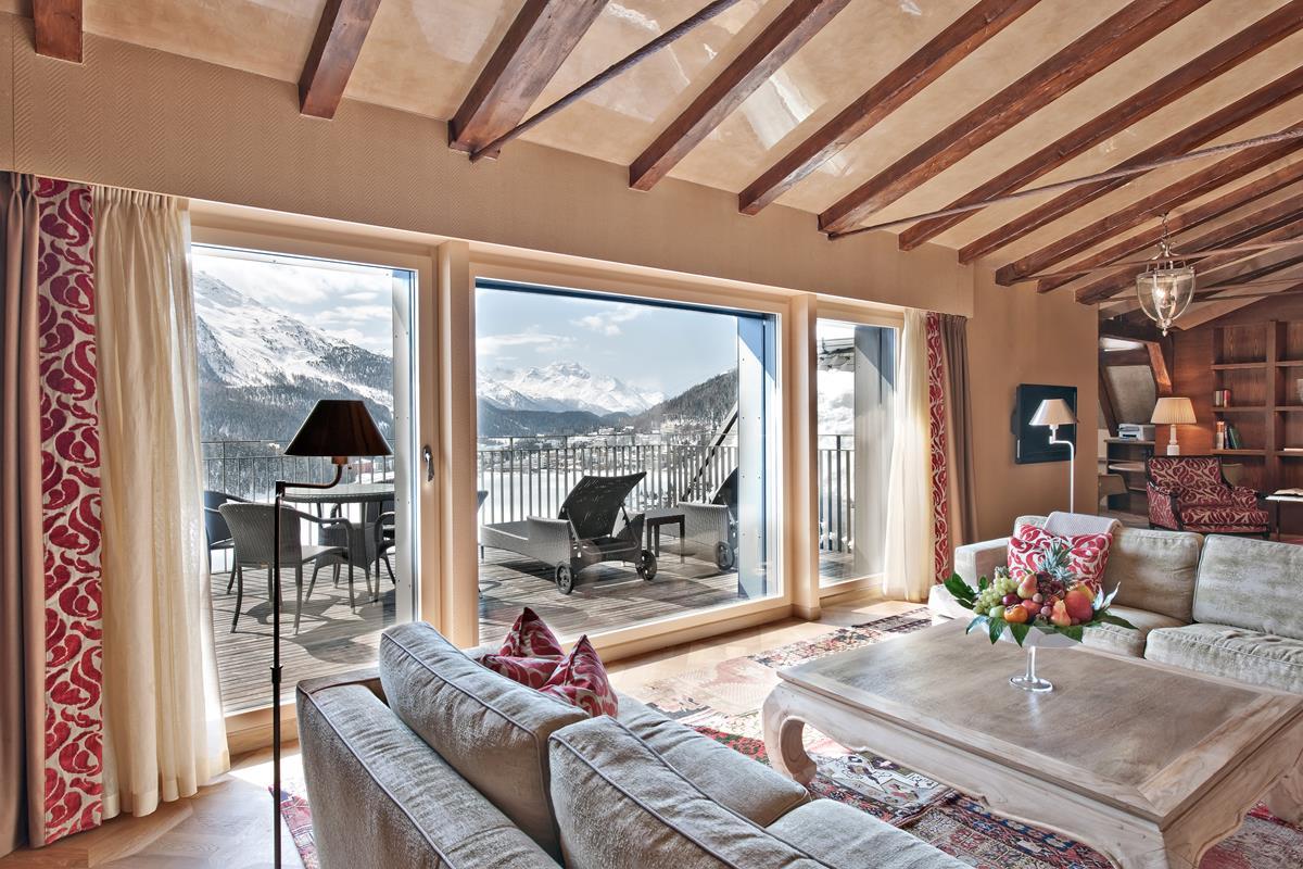 Carlton Hotel St. Moritz – Penthouse