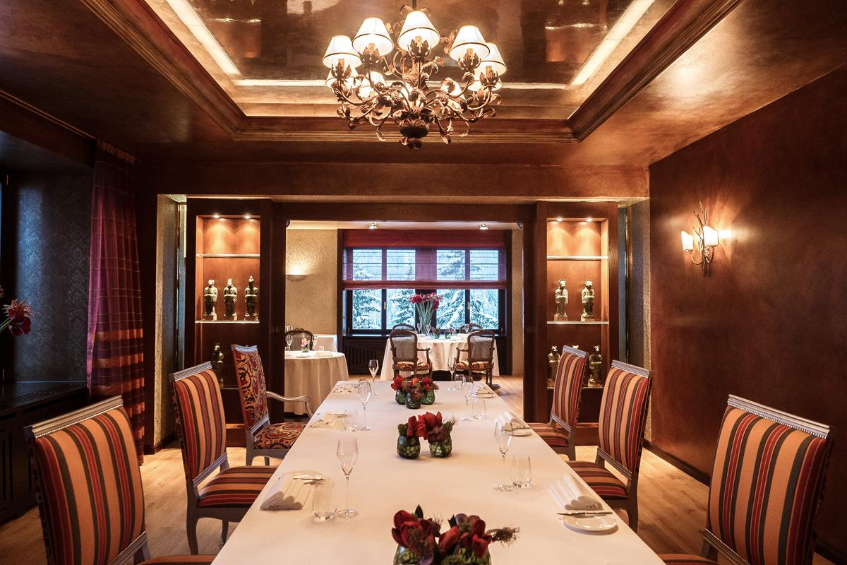 Carlton Hotel St. Moritz – Restauracja Da Vittorio