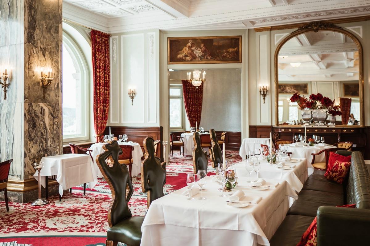 Carlton Hotel St. Moritz – Restauracja