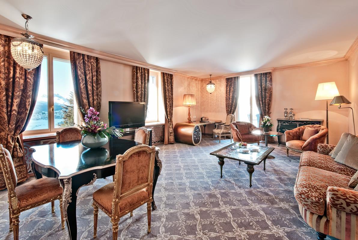 Carlton Hotel St. Moritz – Zaren Suite