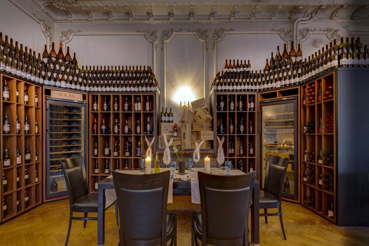 Grand Hotel des Bains Kempinski – Hotelowa winiarnia