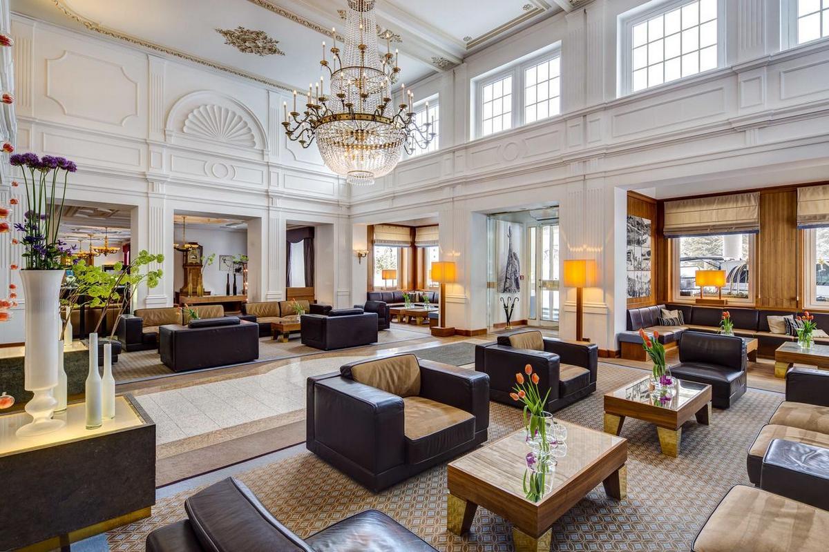 Grand Hotel des Bains Kempinski – Lobby