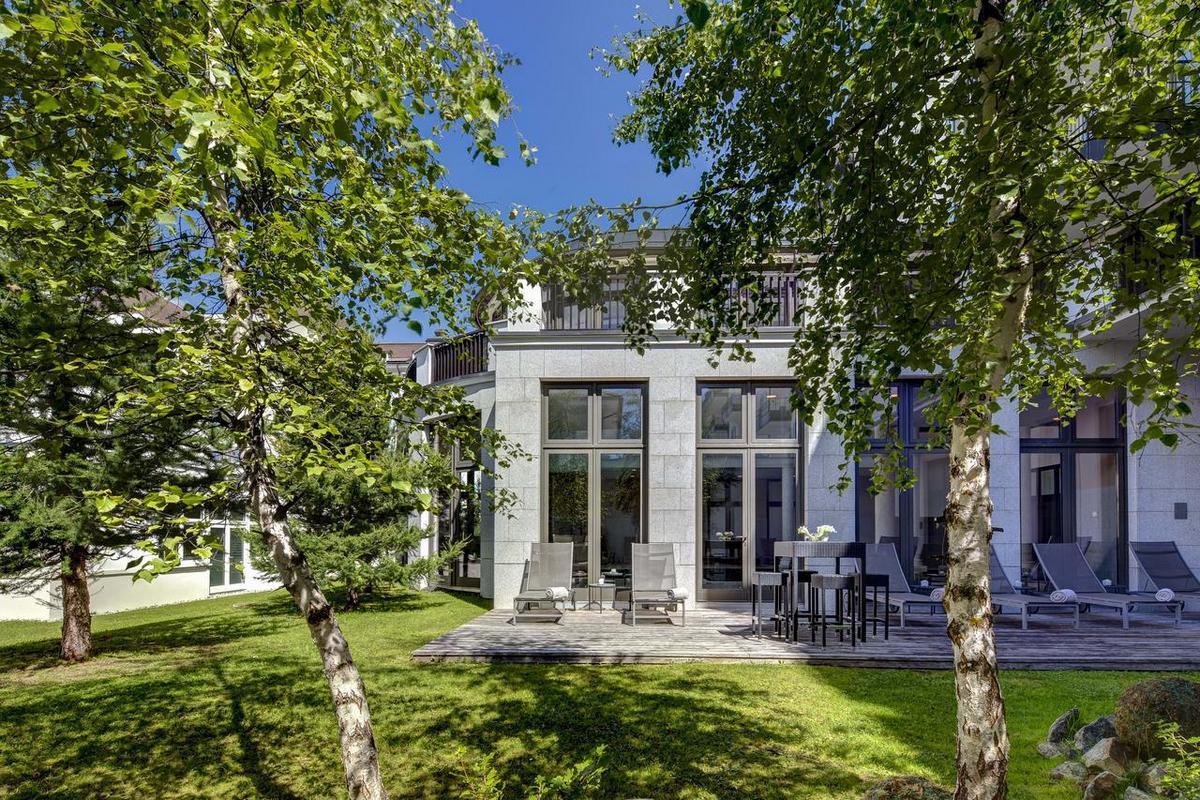 Grand Hotel des Bains Kempinski – Ogród