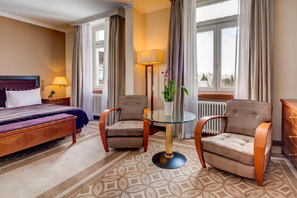 Grand Hotel des Bains Kempinski – Pokój typu Deluxe