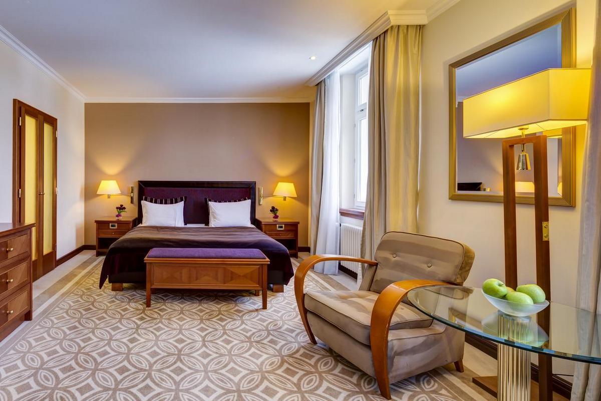 Grand Hotel des Bains Kempinski – Pokój typu Grand Deluxe
