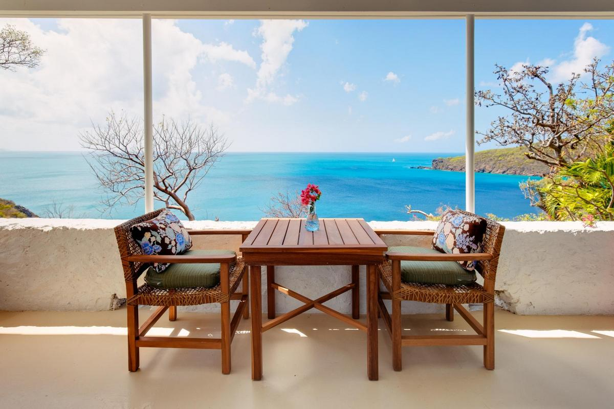 Guana Island – Sea View Room