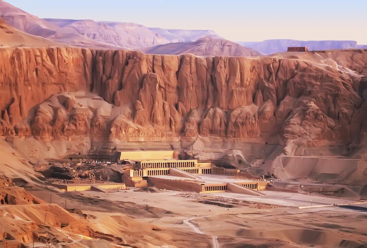 Luksor – Świątynia Królowej Hatszepsut