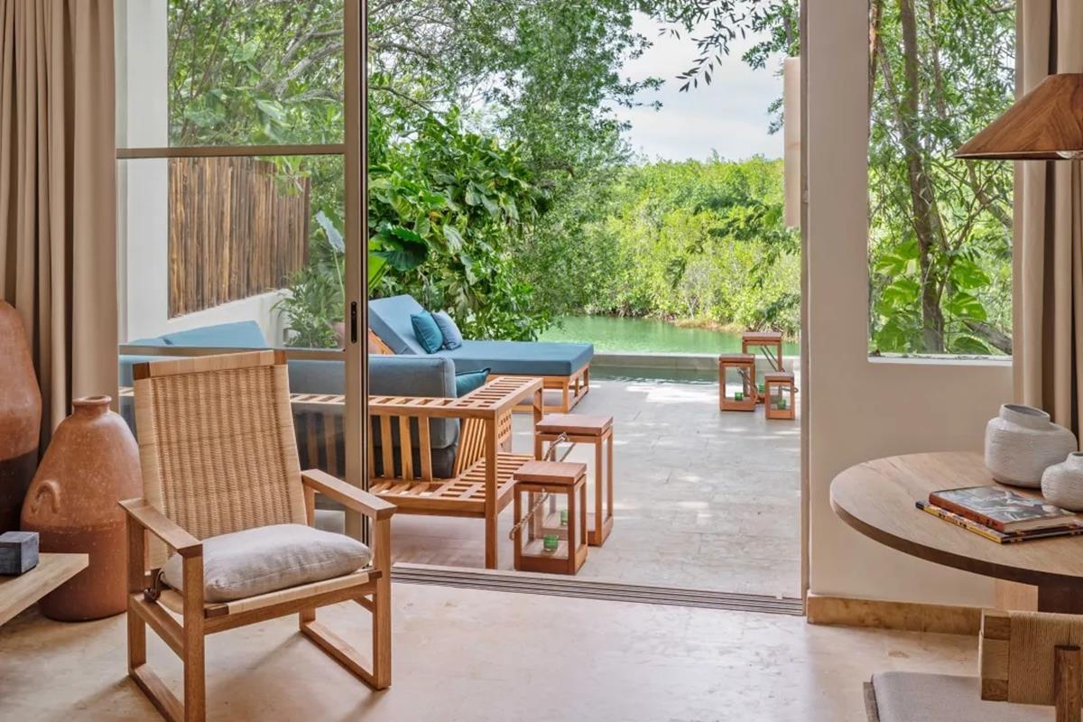 Rosewood Mayakoba – Beachside Lagoon View Suite