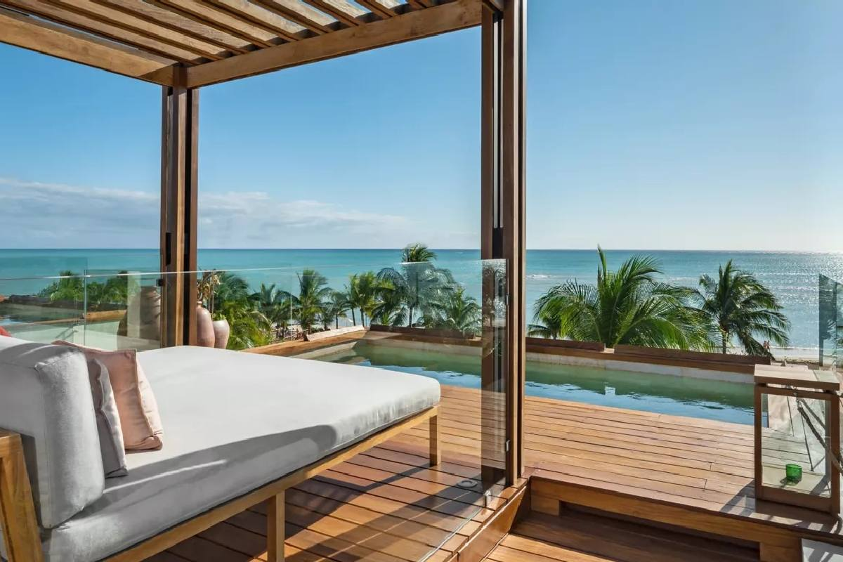 Rosewood Mayakoba – Rooftop Ocean View Suite