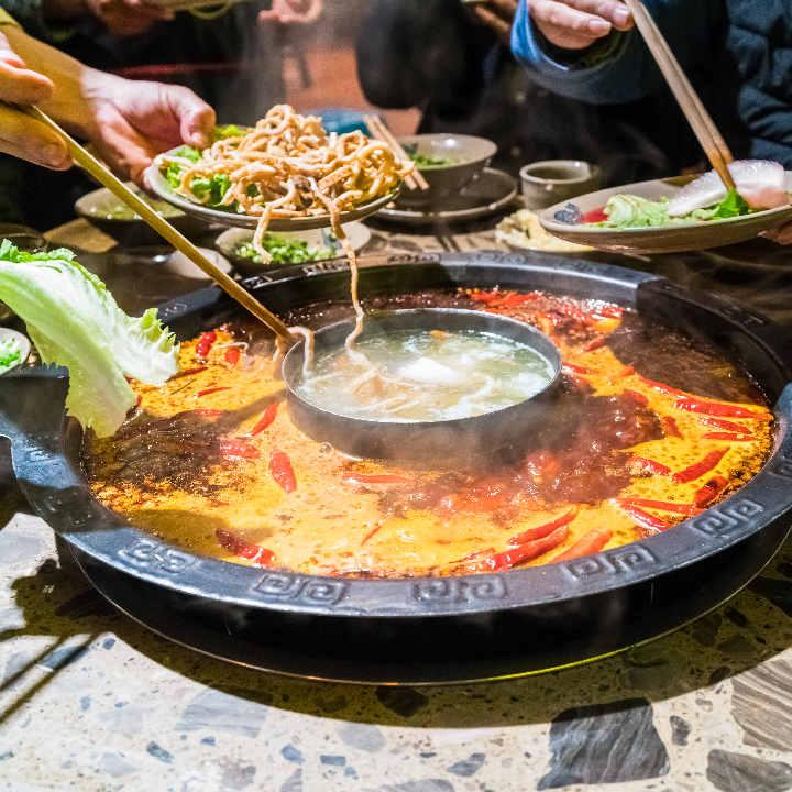 Syczuan – Jedzenie