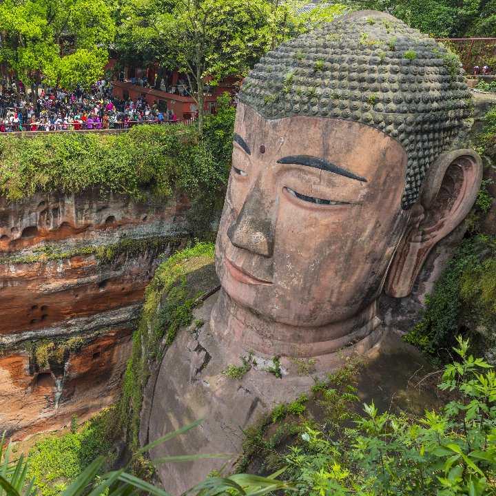 Syczuan- Leshan Buddha