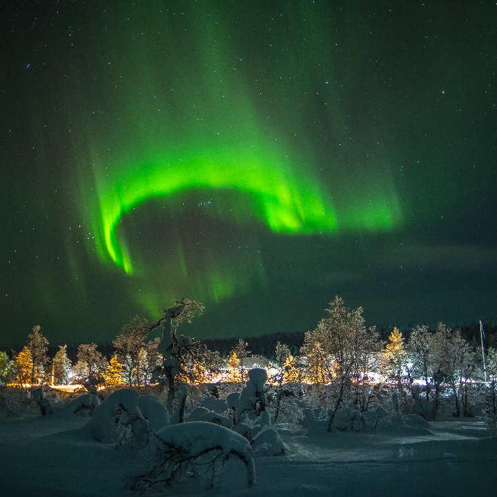 Finlandia – Zorza polarna