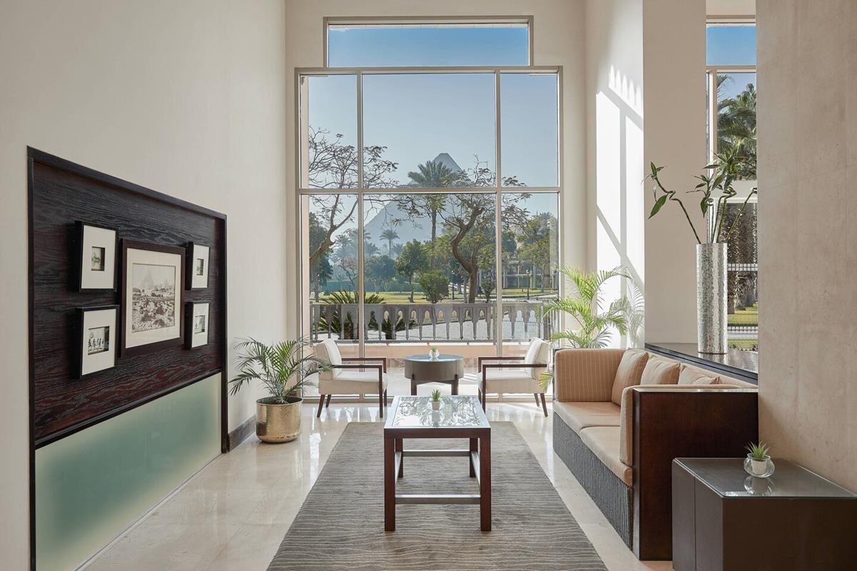Marriott Mena House – Lobby