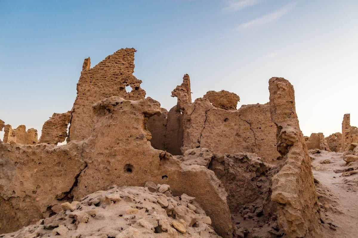 Siwa – Ruiny fortecy Shali