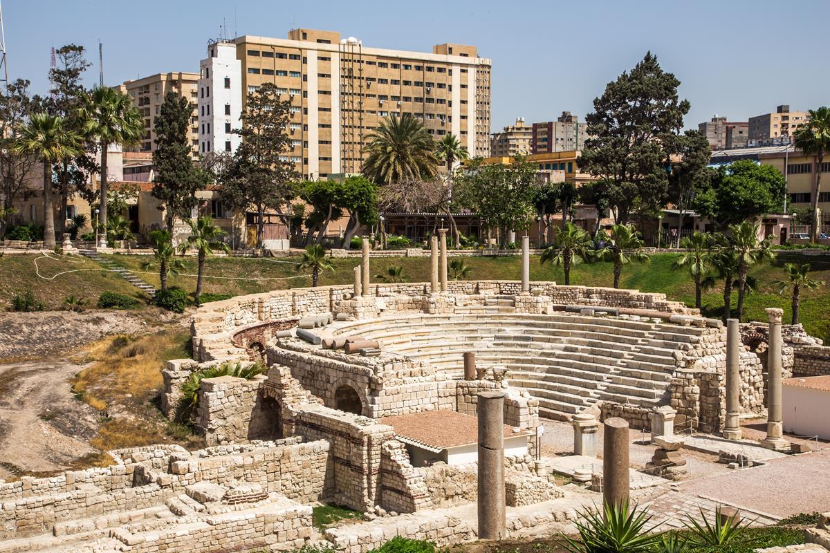 Aleksandria – Teatr Rzymski