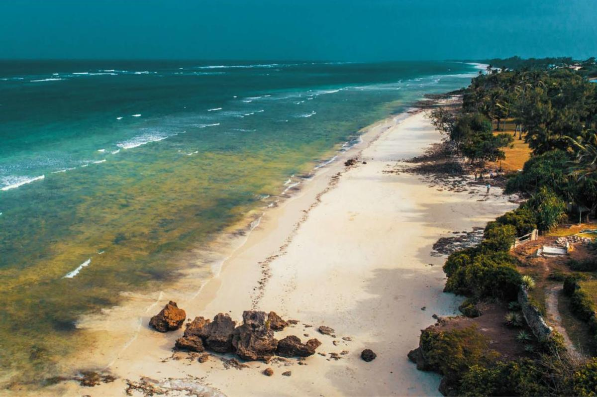 Alfajiri Villas – Plaża