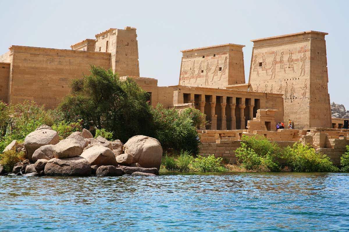 Asuan – Świątynia Izydy na File