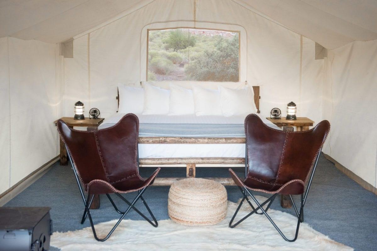 Under Canvas Glamp – Safari Tent