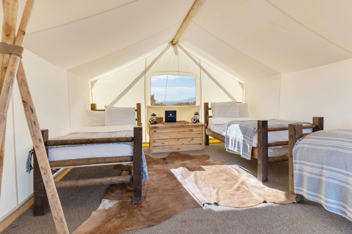 Under Canvas Glamp – Safari Tent 3 Beds
