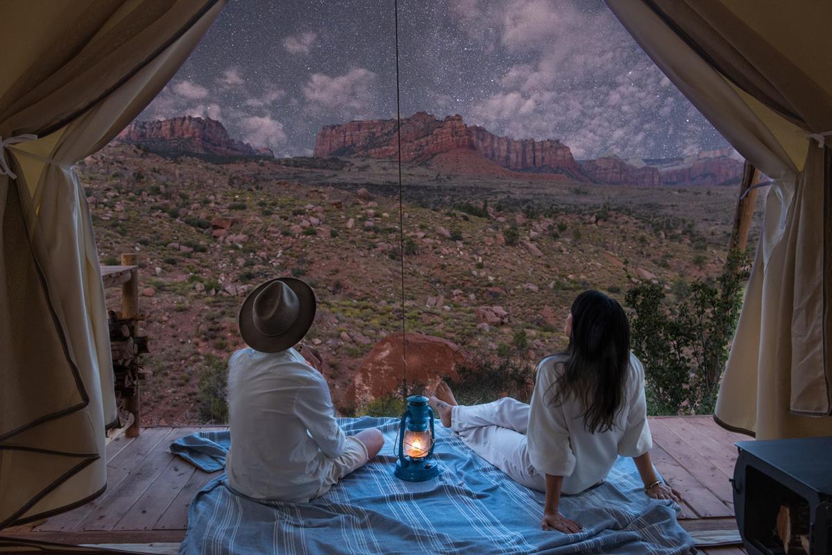 Under Canvas Glamp – Tent