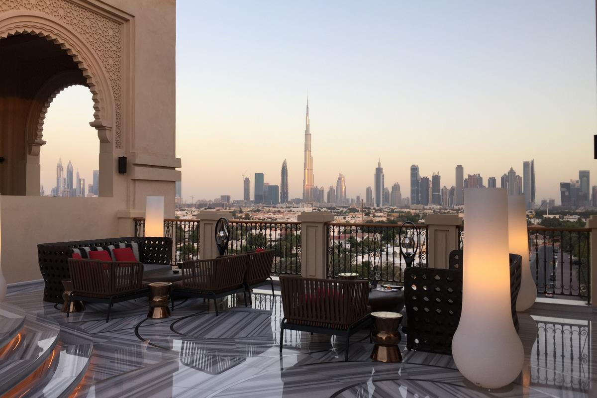 Four Seasons Resort Dubai – Widok z tarasu