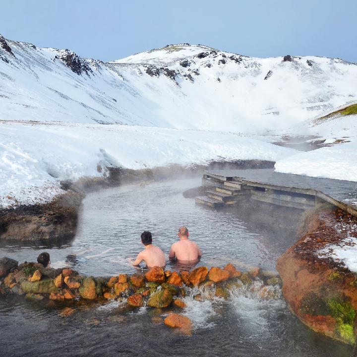 Islandia – gorące rzeki