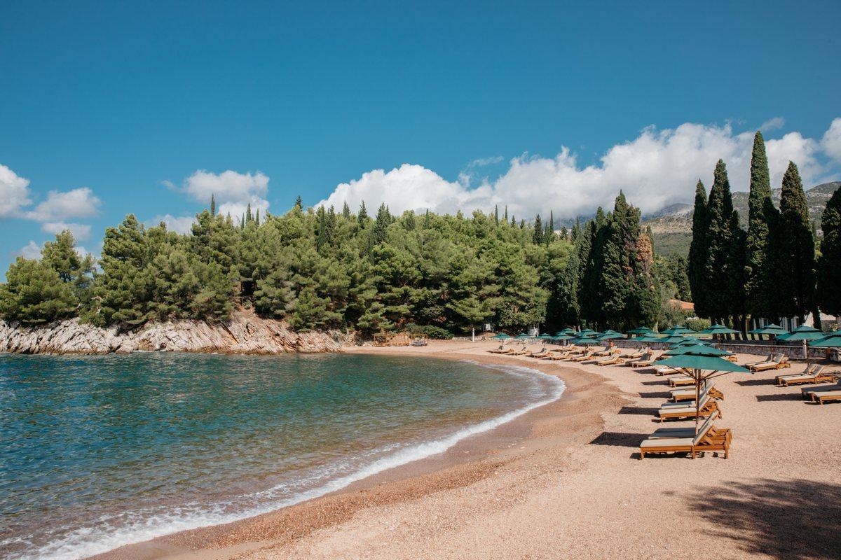 Aman Sveti Stefan – Queen's Beach