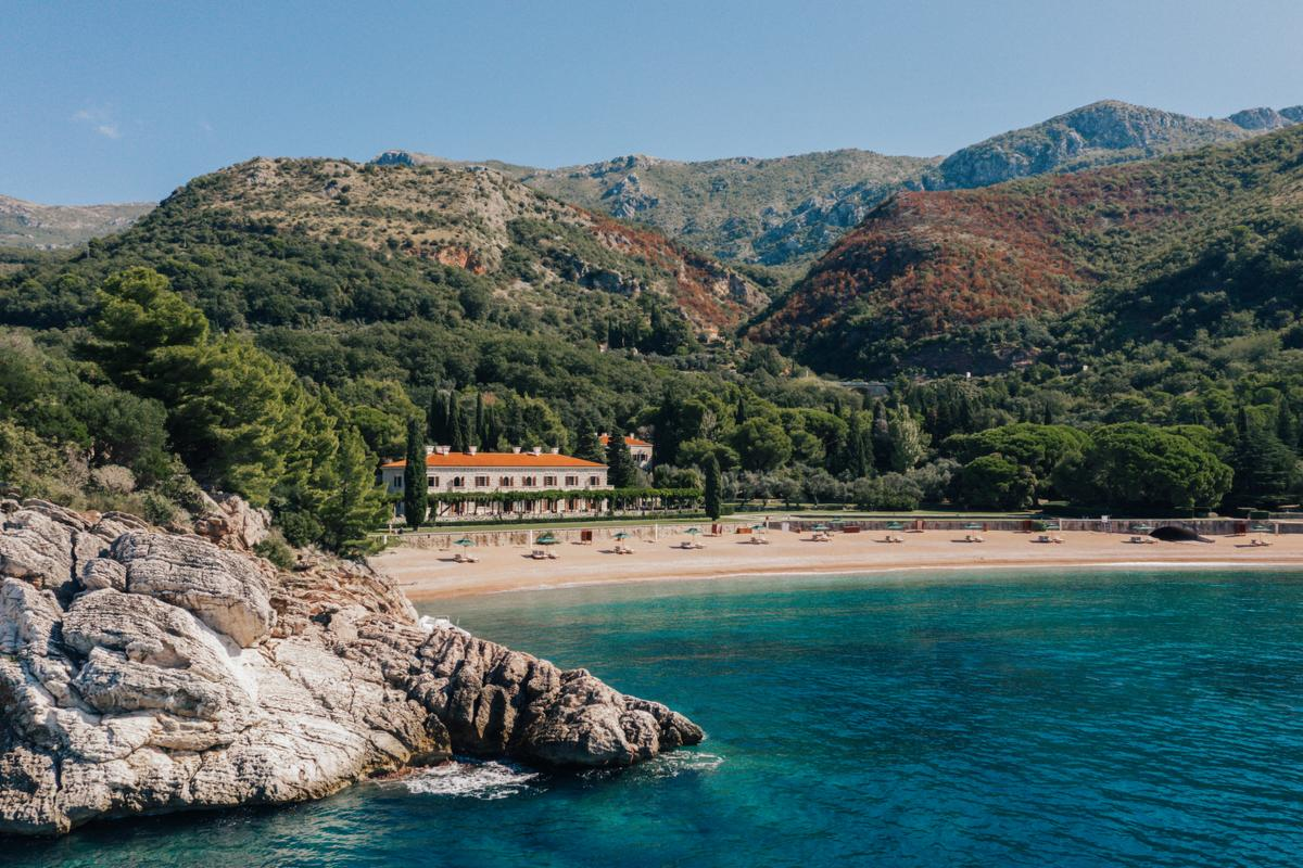 Aman Sveti Stefan – Villa Milocer i King's Beach