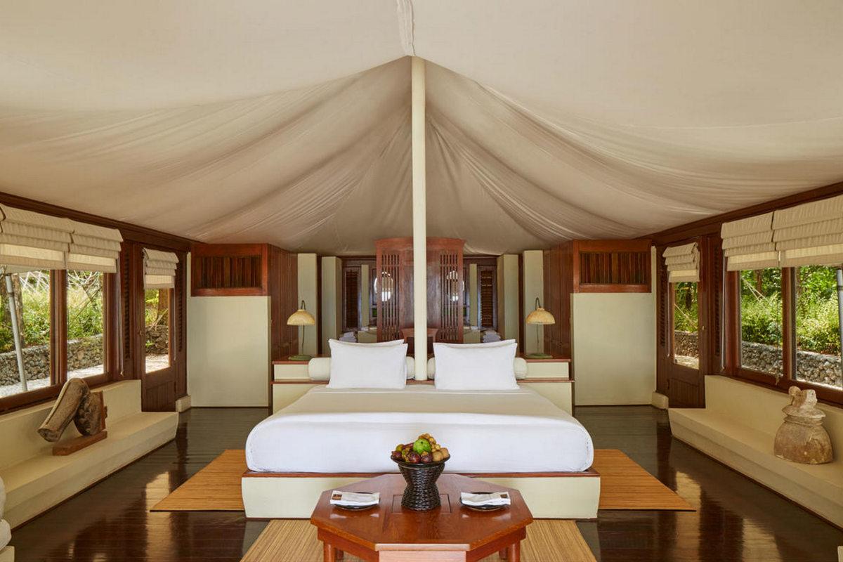 Amanwana – Ocean Tent
