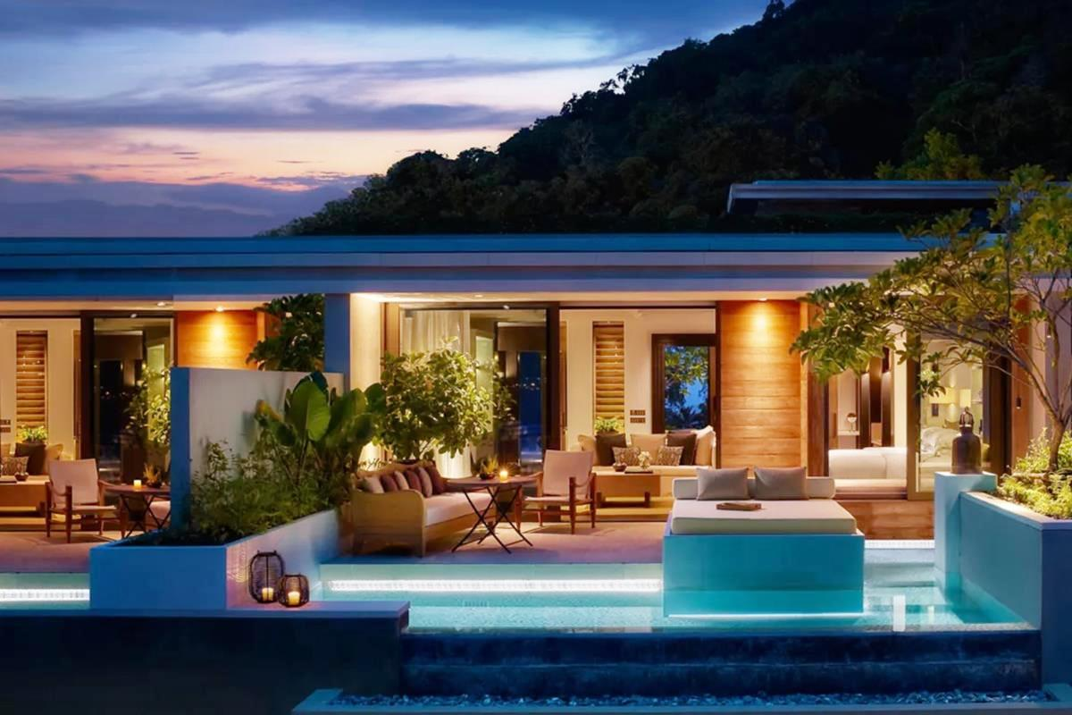 Rosewood Phuket – Partial Ocean View Pool Pavilion