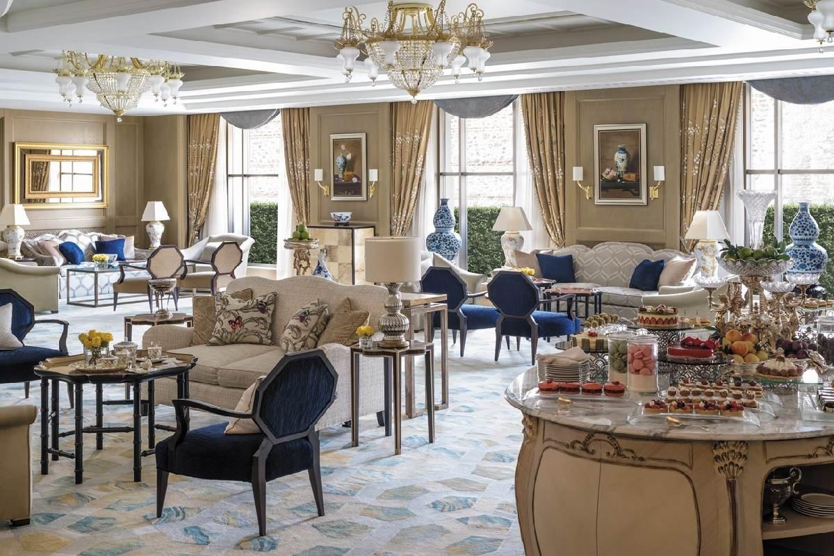 Shangri La Bosphorus – Lobby Tea Room