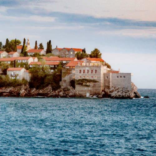 Aman Sveti Stefan, Montenegro – Sveti Stefan Island, view from Villa Milocer