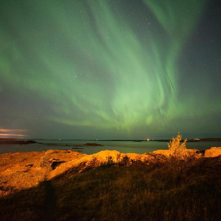 Grenlandia – zorza