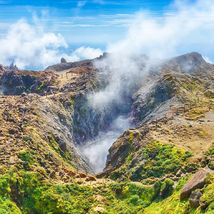 Gwadelupa – Wulkan La Soufriere