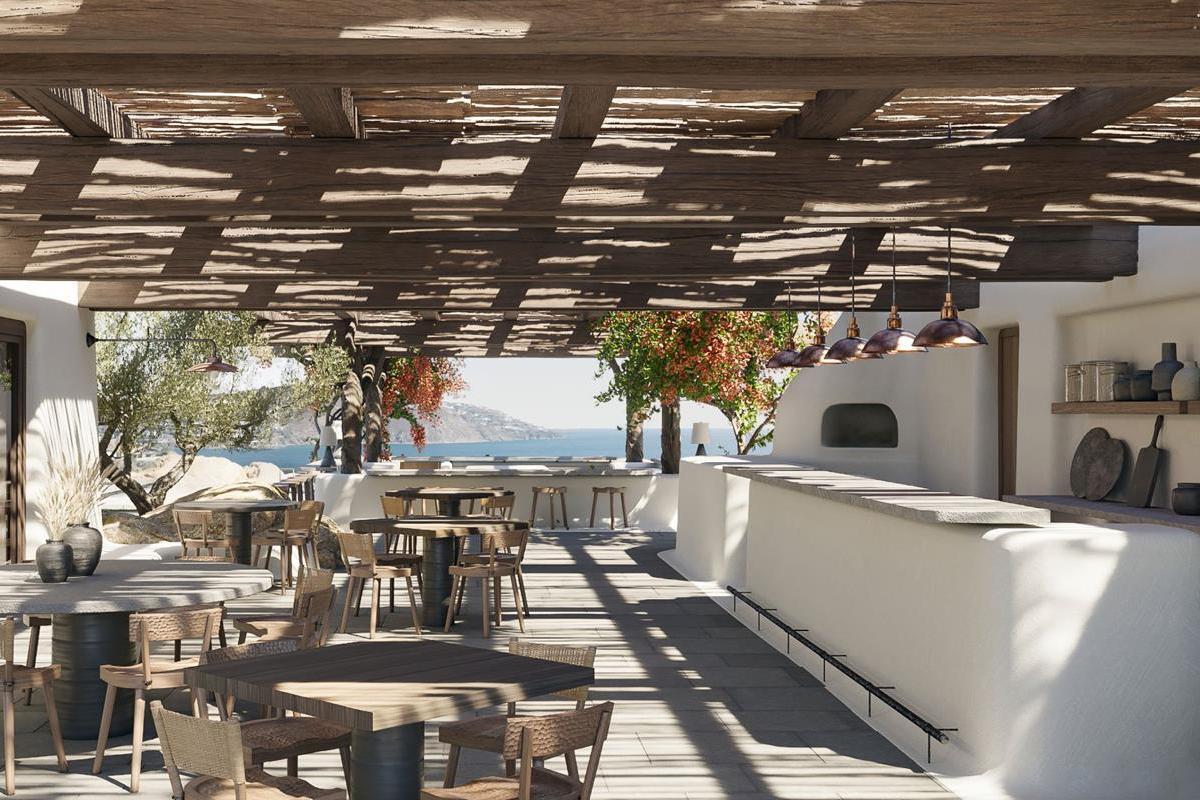 Kalesma Mykonos – Restauracja