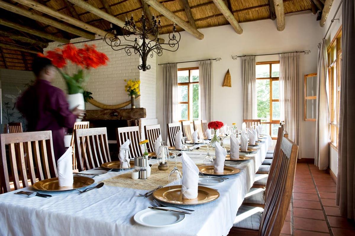 Ngorongoro Farm House – Jadalnia