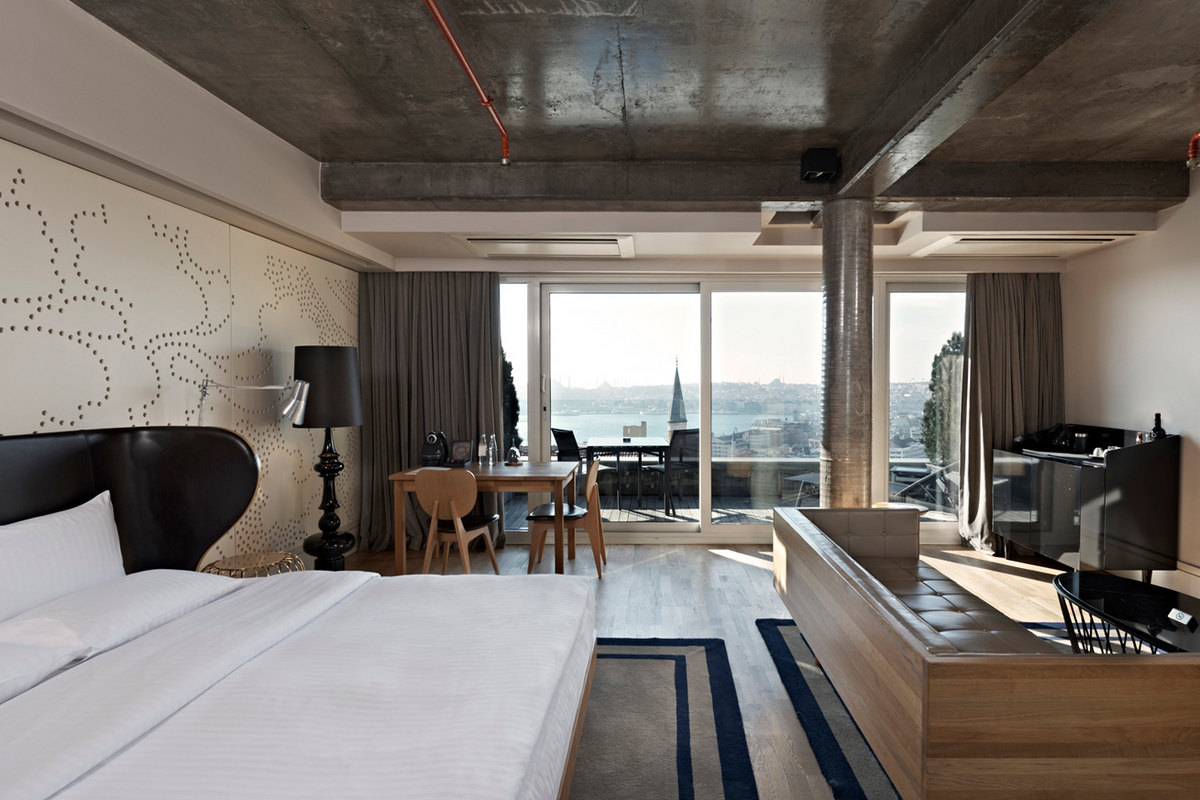 Witt Istanbul Suites – King Panoramic with Terrace