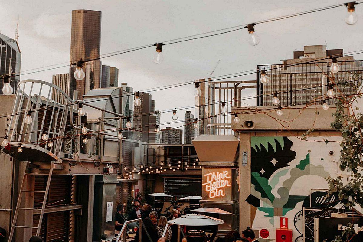QT Melbourne – Bar Secret Garden