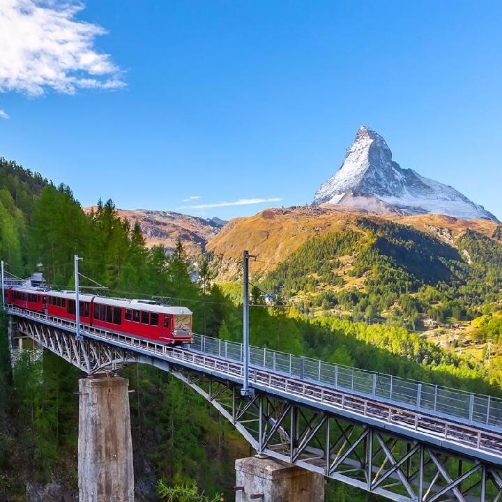Szwajcaria – koleje