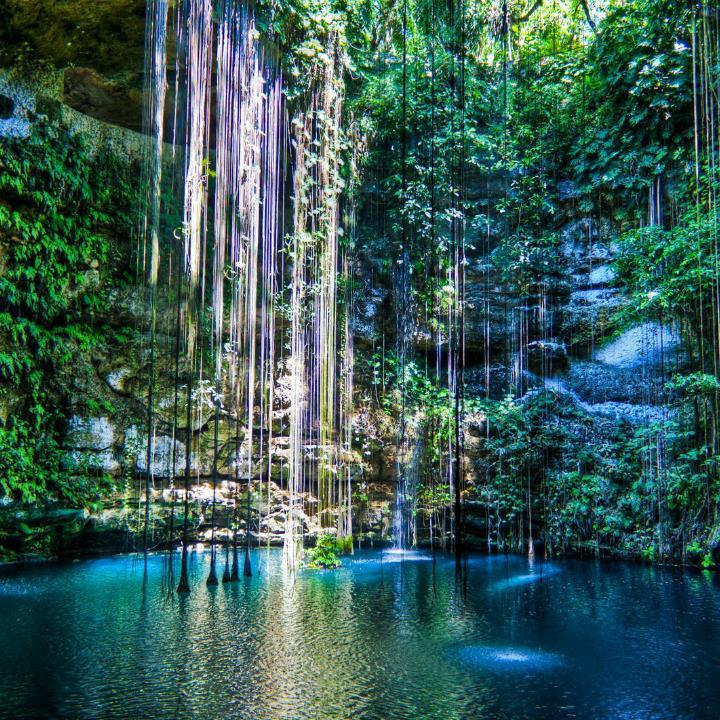Cenote-w-Meksyku