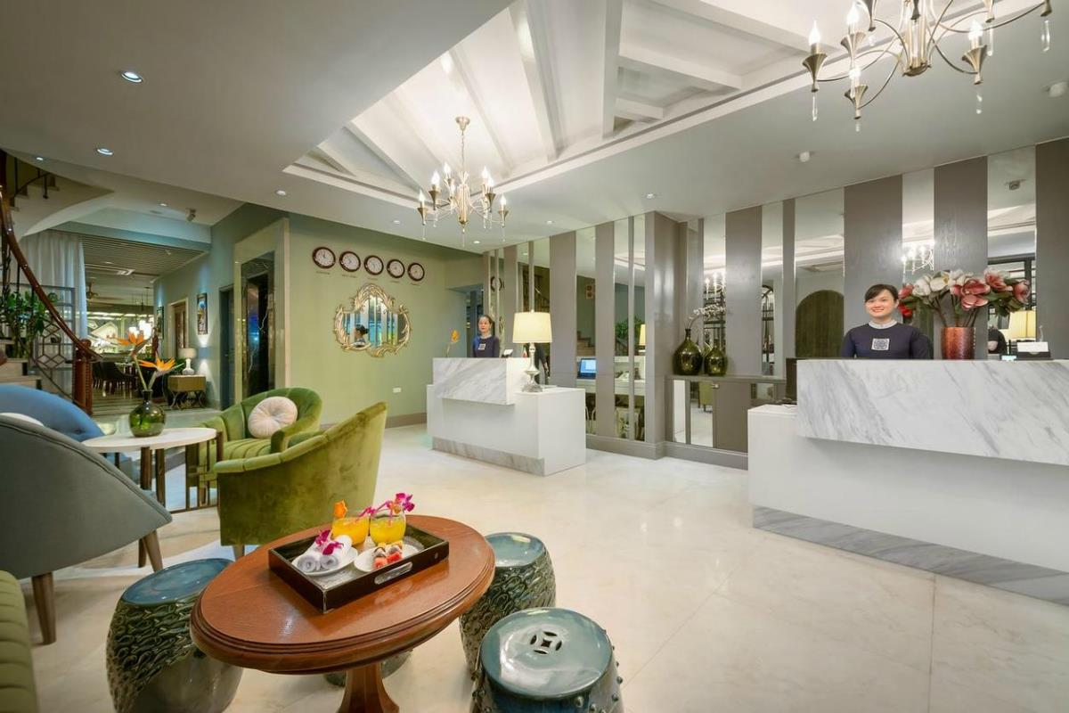 Essence Hanoi Hotel & Spa – Recepcja