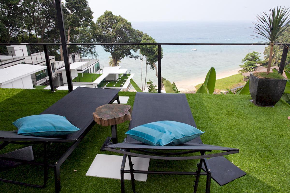 Alunan Boutique Resort – Balkon