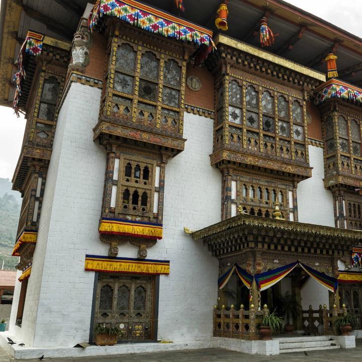 Architektura dzongów