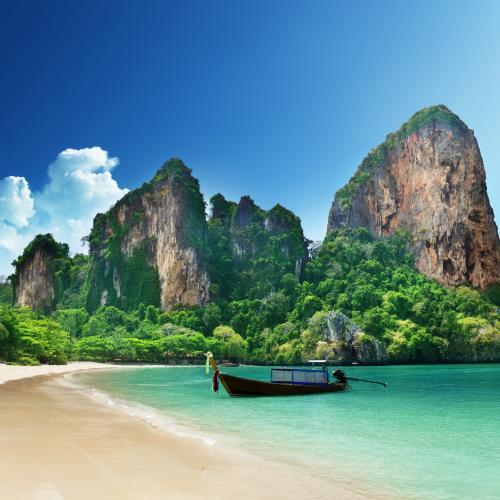 Bangkok, przygoda w Kanczanaburi i niebiańska plaża Railey