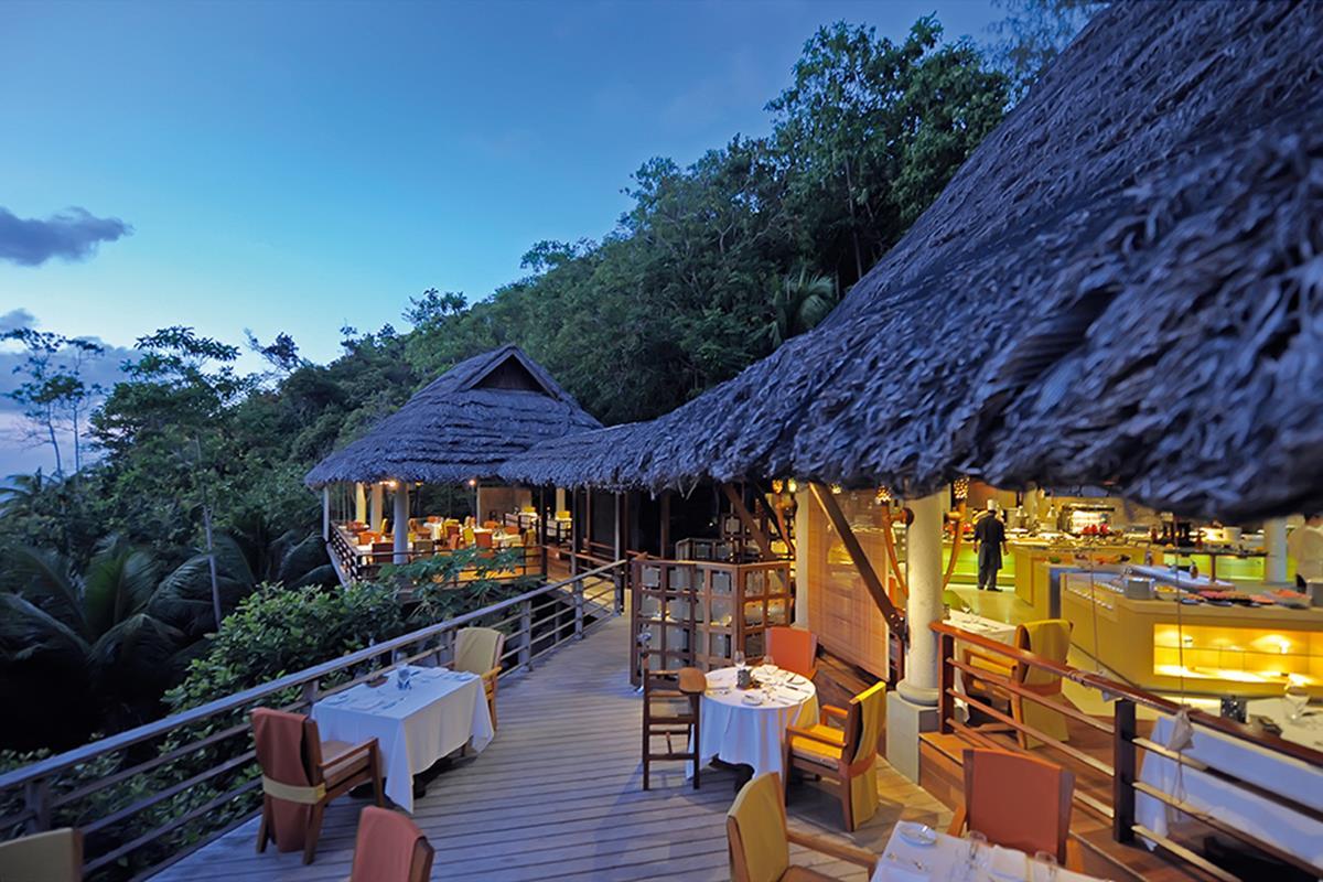 Constance Lemuria Resort – Restauracja