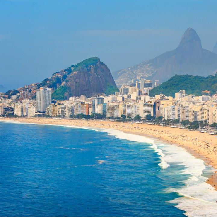 Copacabana i Ipanema