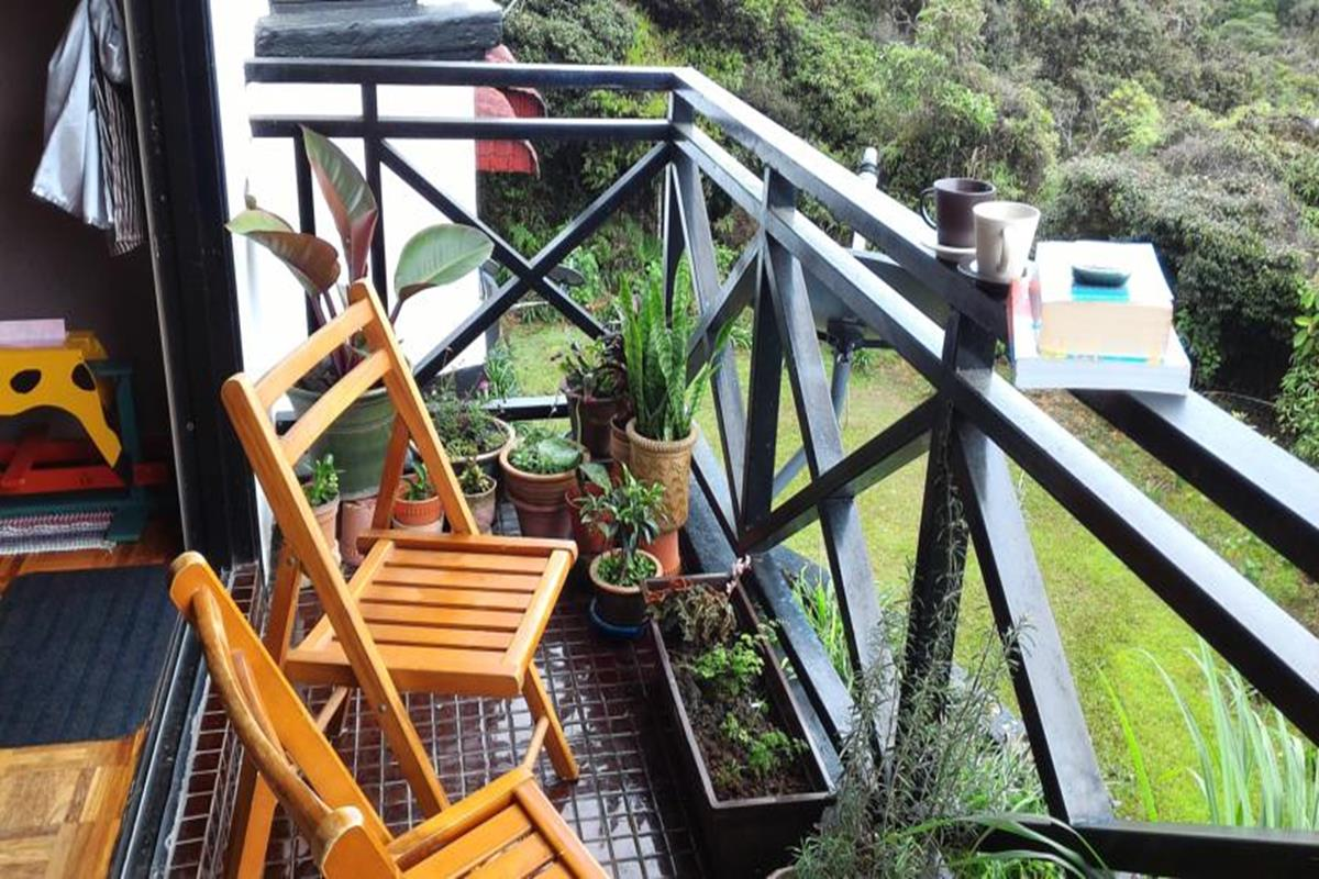 Do Chic In Homestay – Balkon