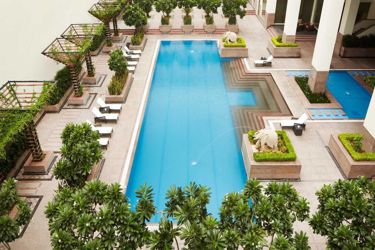 Jaipur Marriott Hotel – Basen
