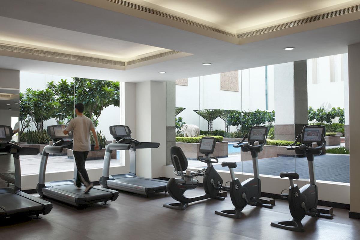 Jaipur Marriott Hotel – Siłownia